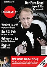 Zeitschrift COMPACT Nr. 1/2013 - Der Euro-Bond Jürgen Trittin