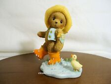 Cherished Teddies Norman & Ducky Lucky 2006 European Exc NIB  SIGNED