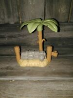 Little People Christmas Nativity Palm Tree Stone Wall Replacement Piece VGC