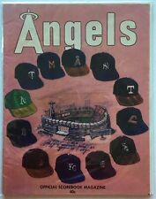 OLD LOS ANGELES ANGELS OFFICIAL SCOREBOOK MAGAZINE