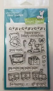 Lawn Fawn  pa-rum-pa-pum-pum  Stamp Set  NIP