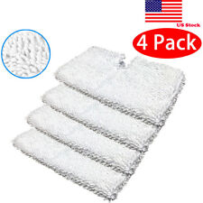 4Pack Washable Replacement Pads For Shark Steam Pocket Mop Pad S3501 S3601 S3901