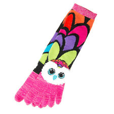 TY Beanie Boos Aria the Owl Toe Socks Age 7-12 Pink New with Tags Free Shipping!