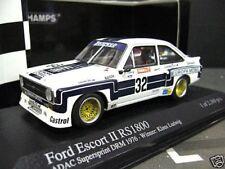 FORD Escort MKII RS1800 Gr.5 DRM Ludwig Zakspeed 1976 RAR Minichamps 1:43