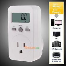 Energy Monitor Meter Watt Consumption Monitor Analyzer Power Socket  Plug US