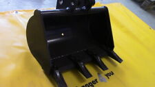 Minibaggerlöffel 1,3 bis 1,9 to.Bagger Schaufel 600mm für 30mm Bolzen oder MS01