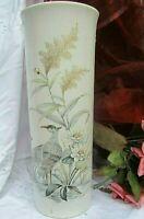 "seltene hohe vase kaiser porzellan ""nautika"" kraniche nossek vintage top 37 cm"