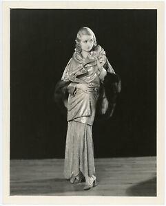 Glamorous Hollywood Star Constance Bennett Original William E. Thomas Photograph