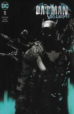 The Batman Who Laughs #1 Variant Cover by Jock DC Comic Book Ltd