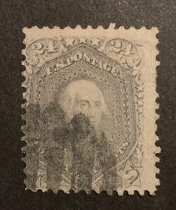 TDStamps: US Stamps Scott#78 24c Washington Used Spot Thin CV$400.00
