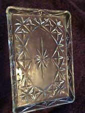 Vanity Tray Heavy Glass