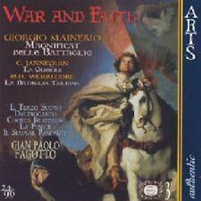 Gian Paolo Fagotto - War and Faith [CD]