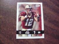 MATT RYAN , ATLANTA FALCONS 2008 HIT FOOTBALL ROOKIE CARD #12 RC MINT!!