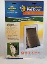PetSafe Extreme Weather Dog and Cat Door - Plastic Pet Door - Medium