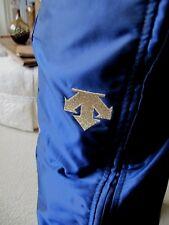 Vtg Descente Ski Snowboard Snow Pants 38 fit US 34-36 Full Side Leg Zippers Mint