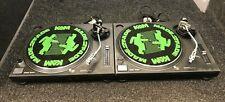 Technics SL1210 MK2 Direct Drive DJ Turntable Deck (Pair)