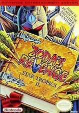 ZODA'S REVENGE: STAR TROPICS II Nintendo NES Game Cartridge