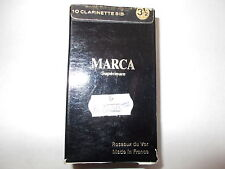 6 x ONLY MARCA SUPERIEURE CLARINET REEDS  STRENGTH 3.5  Free Shipping UK