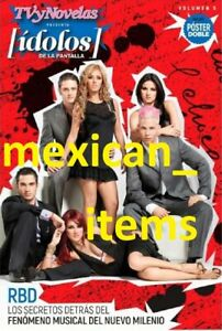 NEW RBD IDOLOS SPECIAL MEXICAN MAGAZINE ALL ABOUT HER TVYNOVELAS REBELDE