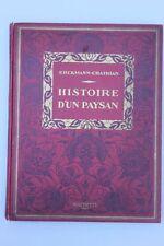 ERCKMANN-CHATRIAN-Histoire D'' ONU Paysan. Révolution Française.