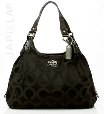 Coach 14324 Madison Maggie op art Hobo Shoulder Bag handbag purse
