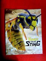 THINGS THAT STING SES STAMP FOLDER  SHEET  2 SHEETS OF 12 MUH WASPS STINGRAY