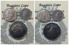 Repubblica Italiana 50 Lire Vulcano I°,II°,II° Tipo, Italia Turrita 1954-2001