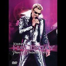 """DVD """" Johnny Hallyday - Parc Des Prinzenzepter 2003 """" Neu Unter Blister"""