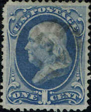 #145 1870 1c NATIONAL BANK NOTE ISSUE USED--VF LITE CANCEL