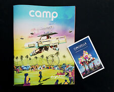Coachella 2017 Camp Magazine AND Program Booklet (Lineup, Maps, and Set Times)