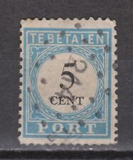 Port nr 6 TOP CANCEL PRINCENHAGE (214) NVPH Nederland Netherlands due portzegel