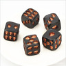 5Pcs/set 18mm Cool Golden Skull Dice 6-Sided Cube Party Entertainment Leisure