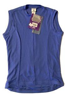 Danskin Alta Tank Cycling Jersey designed by Canari, Women's Small, Blue