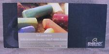 Rembrandt Soft Pastel Box ~ 15 Full ~ 30 Half Sticks ~ NEW