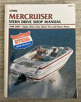 Mercruiser Stern Drive Shop Manual 1998-2004 by Penton Staff and Clymer