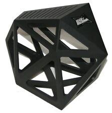 Edge of Belgravia Black Diamond Knife Block Geometric 11 Slots Used / G