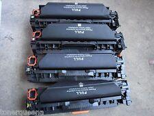 4 NIB Toners for HP LaserJet CP2020 CP2025n CM2320nfi Printer CC530A