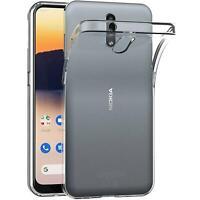 Handy Case für Nokia 2.3 Hülle Transparent Schutz Tasche Handyhülle Cover