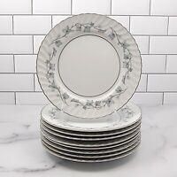 "Mikasa Encino 212 Set of 9 Bread & Butter Plate Dinnerware Japan 6 5/8"" (19.5cm)"