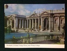 Postcard Bank of Ireland College Green from Trinity College Mount Salus Press