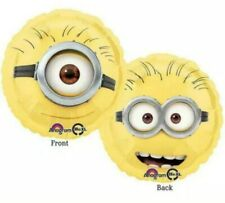 DESPICABLE ME MINIONS FOIL HELIUM BALLOON 2 SIDED DESIGN