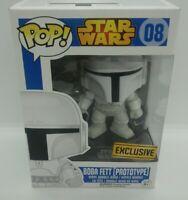 Funko Pop Boba Fett Prototype 08 Star Wars Exclusive