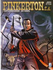 fumetto PINKERTON S.A.Star Comics COMPLETA 1/6