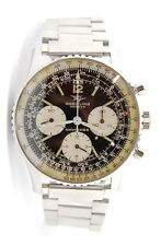 MENS S/S BREITLING NAVITIMER 806 CHRONOGRAPH 40MM MANUAL WIND WRIST WATCH