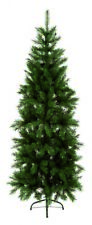 Premier Slim Pine Christmas Tree - Green - 240cm/2.4m/8ft