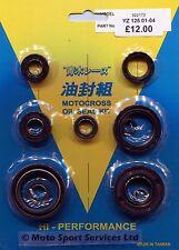 Engine Oil Seal Kit Yamaha YZ 125 YZ125 2001 to 2004 Mitaka 172
