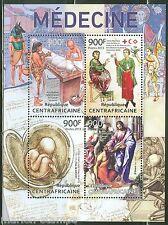 Central Africa 2013 Medicine Sheet Mint Nh