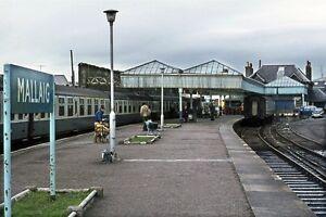 MALLAIG STATION 1975 Rail Photo