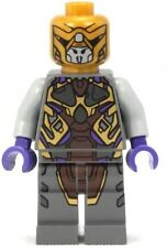 LEGO 6865 - Super Heroes ALIEN FOOT SOLDIER Mini Figure - Dk Gray Suit