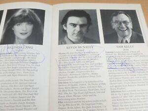 Dead Funny Belinda Lang Kevin McNally Sam Kelly & Cast Hand Signed Theatre Prog